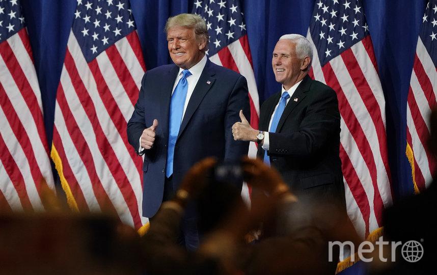 Дональд Трамп и Майк Пенс. Фото AFP