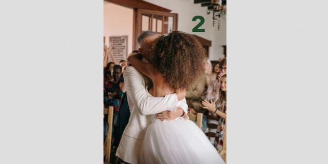 Два года назад Венсан Кассель и Тина Кунаки поженились.