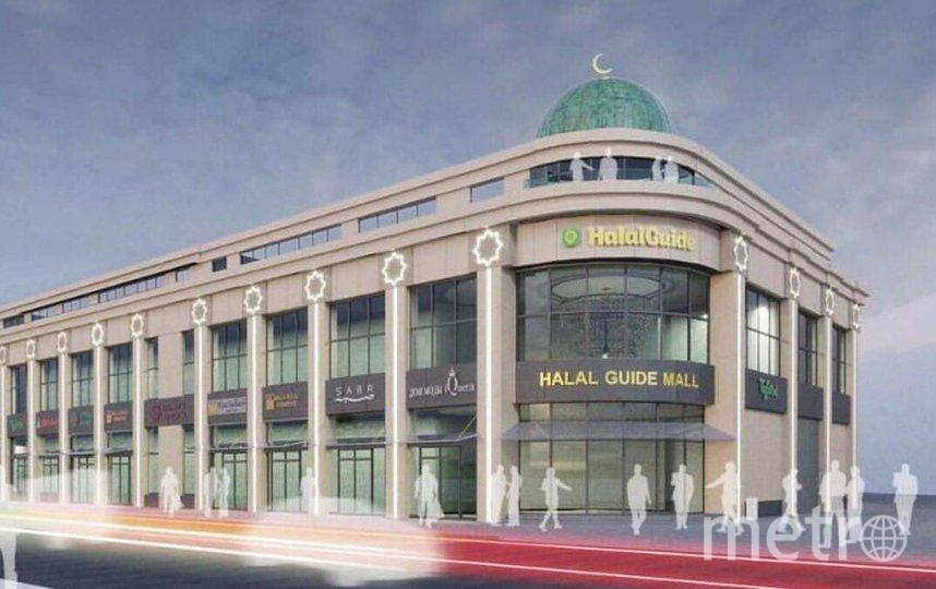 """На первом этаже HalalGuideMall предполагается размещение ресторанов. Фото https://www.instagram.com/investtatarstan/, """"Metro"""""""