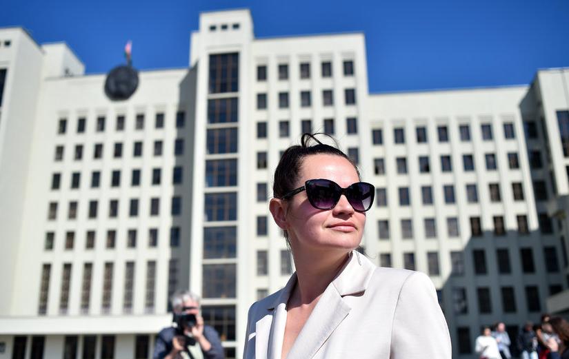 Светлана Тихановская. Фото AFP.