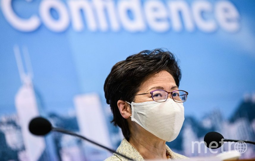 Ранее лидер Гонконга Кэрри Лам заявила, что массовое тестирование жителей Гонконга на COVID-19 начнется 1 сентября. Фото AFP