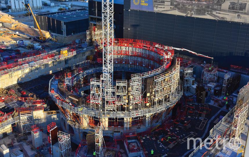Так выглядит ИТЭР. Фото Фото предоставлено британским управлением по атомной энергии