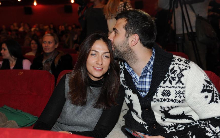 Иван Ургант и Наталья Кикнадзе. Фото Instagram @urgantcom