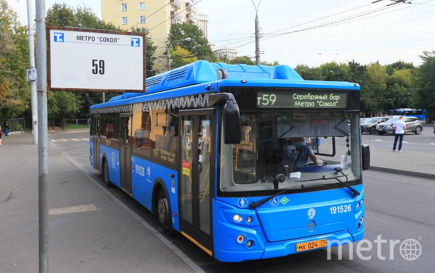 59-й электробус пост принял. Фото Василий Кузьмичёнок