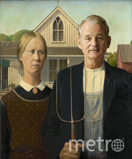 Билл Мюррей стал героем классических картин. Фото предоставлено героем материала