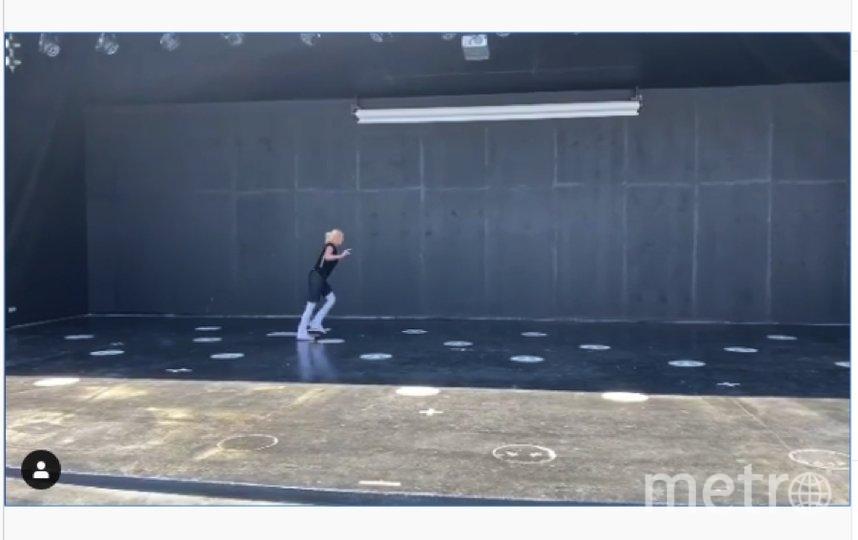 Видео странного танца Волочковой разлетелось по Сети. Фото скрин-шот