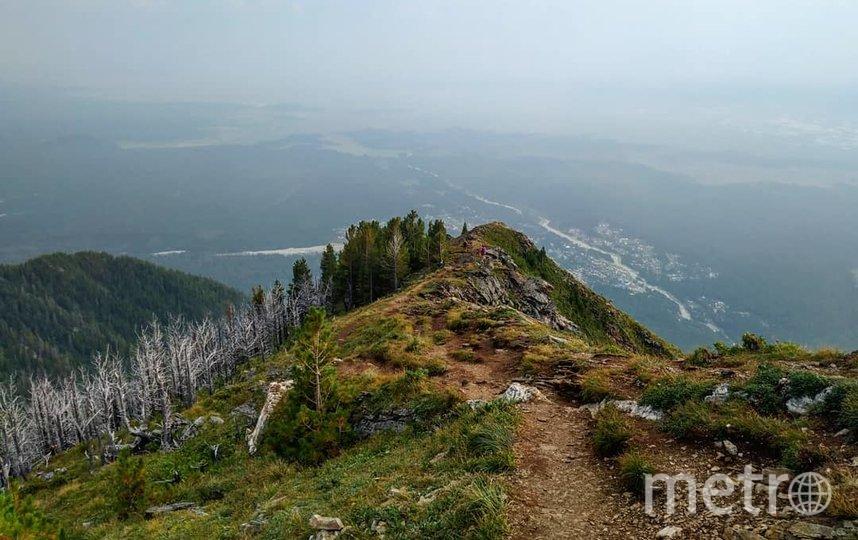 Необязательно доходить до вершины, панорама на Аршан открывается уже после первого километра пути. Фото Ольга Кабанова, Иван Тереховский