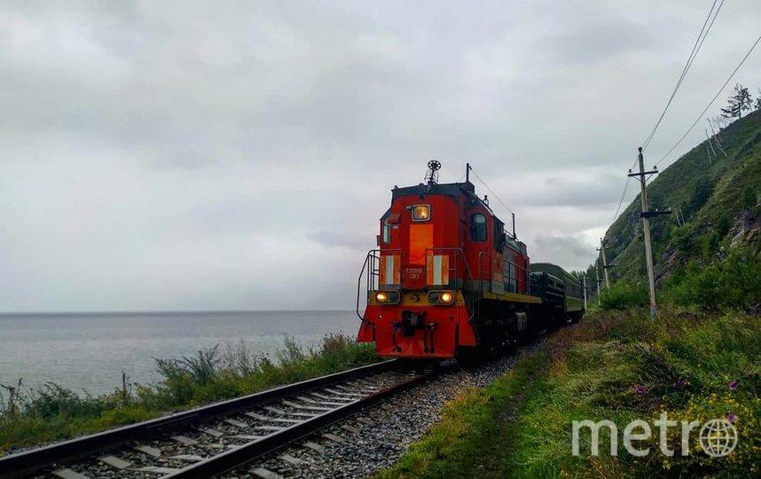 Кругобайкальская железная дорога. Фото Ольга Кабанова, Иван Тереховский