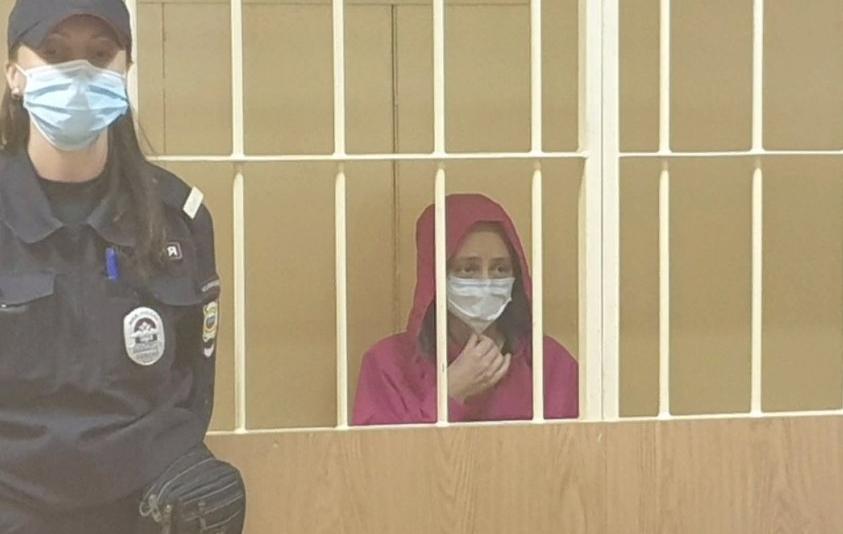 Марину Кохал арестовали. Фото Объединенная пресс-служба судов Петербурга.