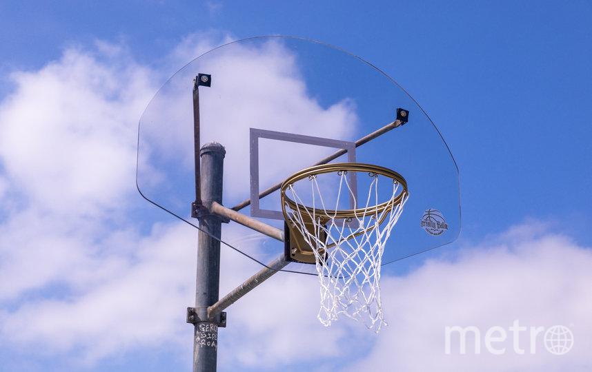 Баскетбольный щит тоже восстановили по технике кинцуге. Фото Instagram @Shafikkadi