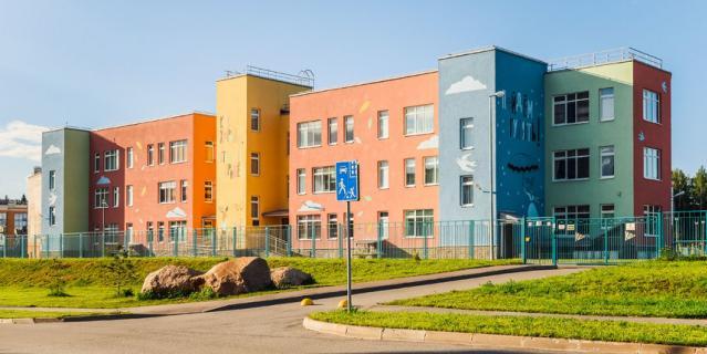 Инфраструктура новых школ на высшем уровне.