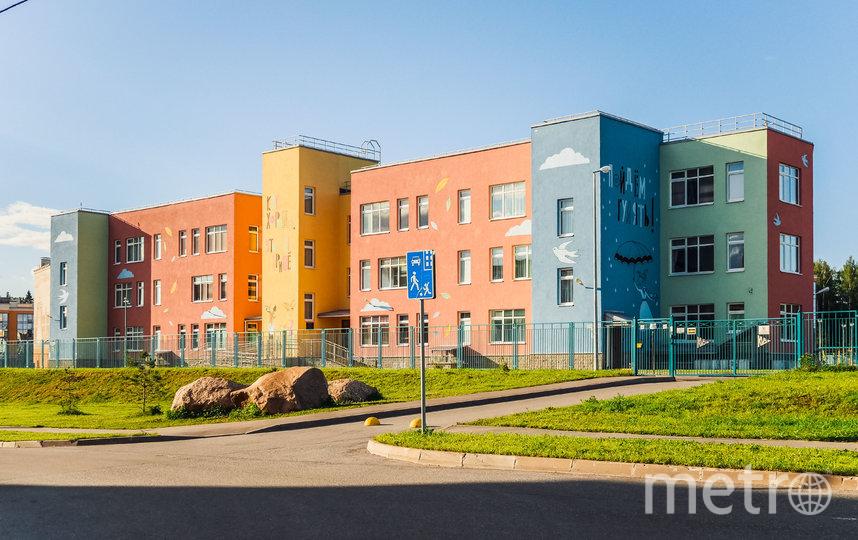 Инфраструктура новых школ на высшем уровне. Фото ГК «КВС»