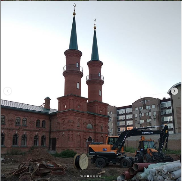 "Мечеть в Уфе. Фото Майя Колесникова, ""Metro"""