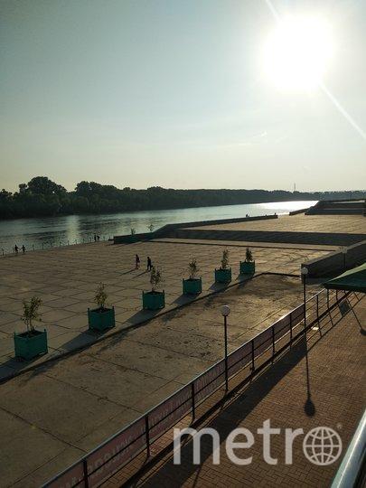 """Набережная реки Белая. Фото Майя Колесникова, """"Metro"""""""