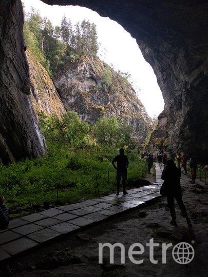 "Вход в Капову пещеру. Фото Майя Колесникова, ""Metro"""