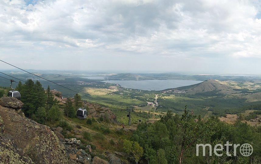 "Башкирия. Вид с горы Яманкай. Фото Майя Колесникова, ""Metro"""