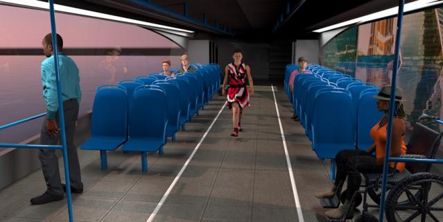 Максимальная скорость таких катеров – 27 км/ч. Пассажировместимость – 40 человек.