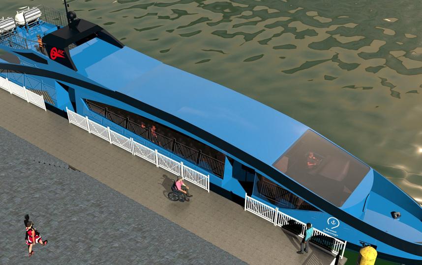 Максимальная скорость таких катеров – 27 км/ч. Пассажировместимость – 40 человек. Фото boat-ksmz.ru