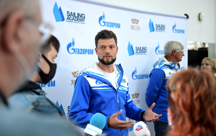 Директор Академии парусного спорта Михаил Андреевич Христиановский. Фото Предоставлено организаторами