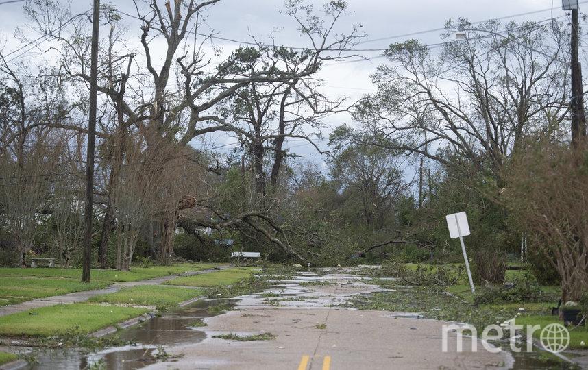 """Лаура"""" является одним из самых сильных ураганов, когда-либо поражавших побережье Мексиканского залива США. Фото AFP"""