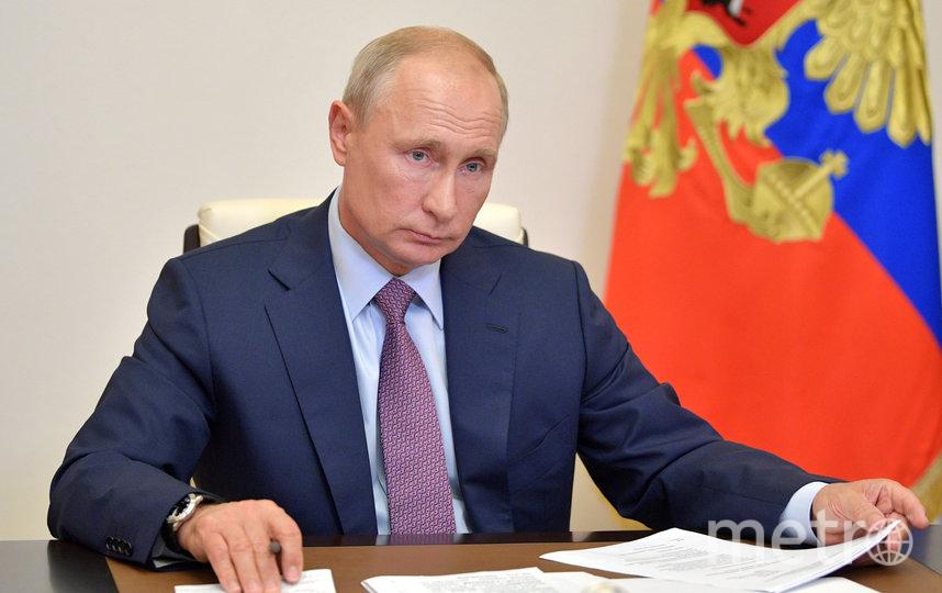 Президент России Владимир Путин, архивное фото. Фото AFP