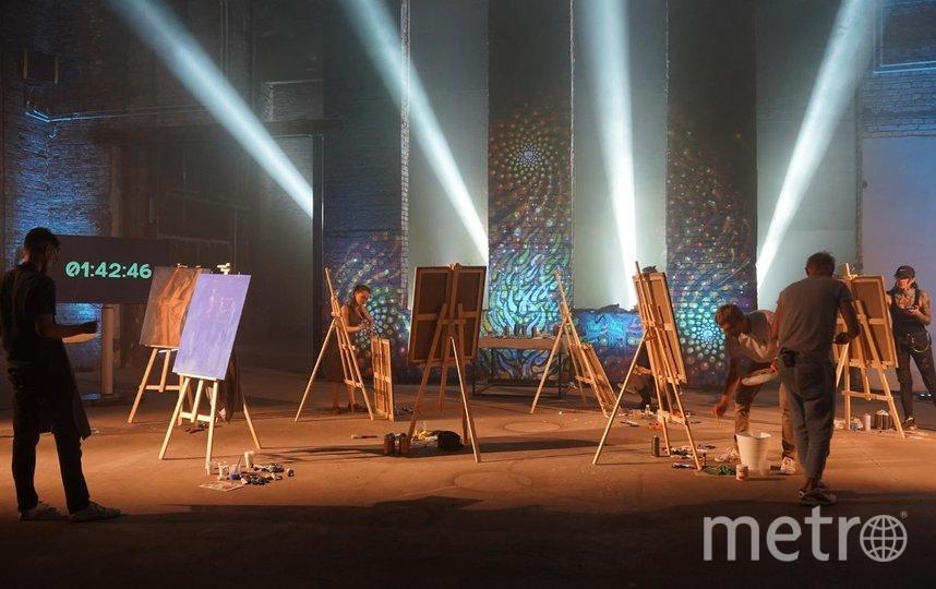 В городе завершились съёмки шоу о петербургских художниках. Фото Фото предоставлено организаторами.