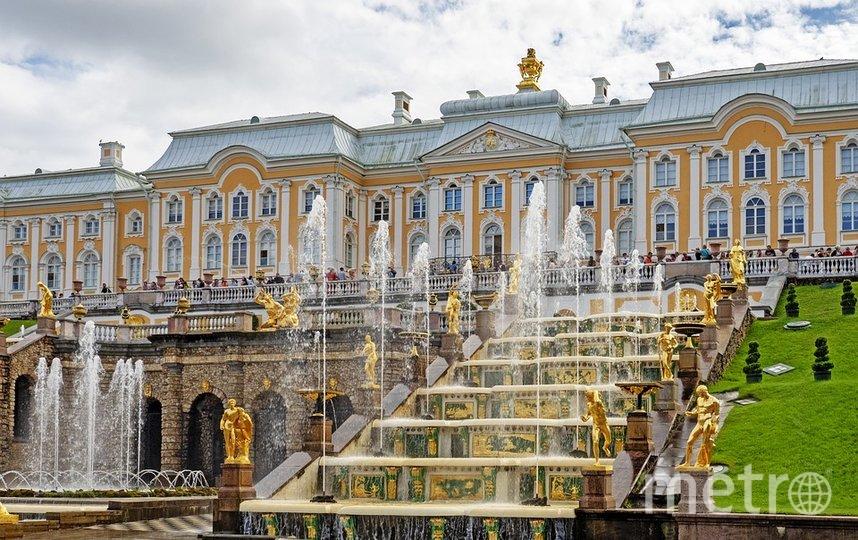 29 августа в Нижнем парке Петергофа фонтаны временно не работали по техническим причинам. Фото pixabay.com