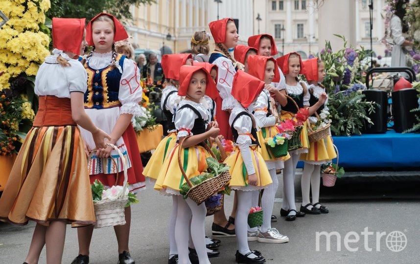 "Фестиваль цветов в Петербурге. Фото Алена Бобрович, ""Metro"""