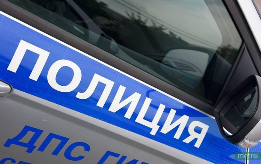 """На 60-м километре Киевского шоссе столкнулись четыре машины. Фото """"Metro"""""""