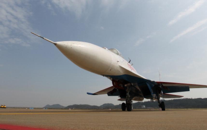 Истребитель Су-27. Фото Getty