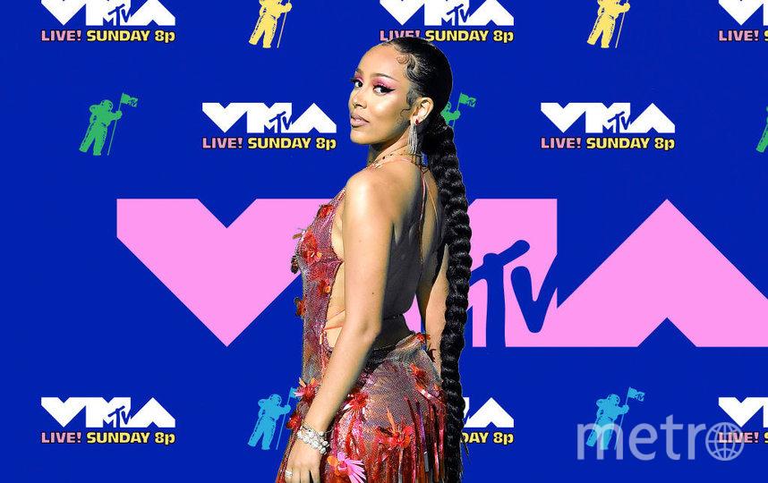 Вручение премий MTV VMA-2020 проходило без зрителей. Фото Getty