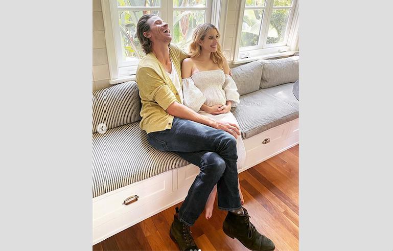 Эмма Робертс с Гарретом Хедлундом. Фото скриншот: instagram.com/emmaroberts/