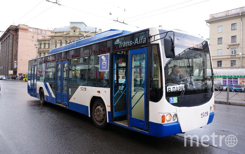 """На сегодняшний день в Санкт-Петербурге восстановлено движение по 98% маршрутов наземного общественного транспорта. Фото """"Metro"""""""