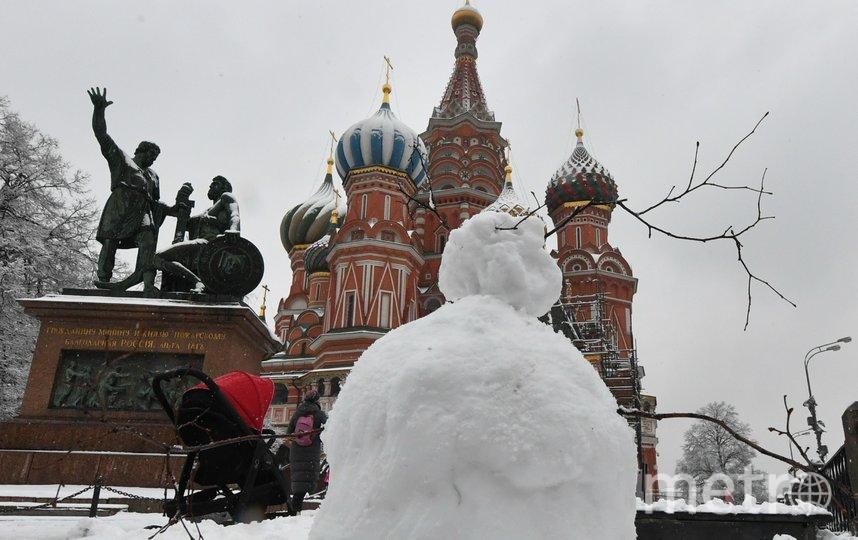 "Зима придёт нескоро, но москвичей уже пугают холодами. Фото АГН ""Москва"" | Киселев Сергей"