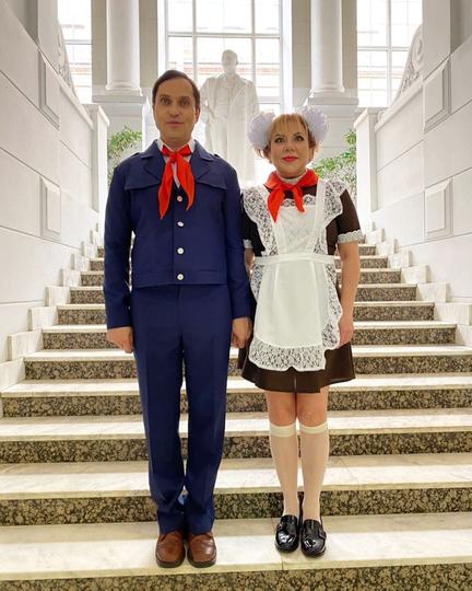 Александр Ревва и Марина Федункив. Фото instagram @arthurpirozhkov