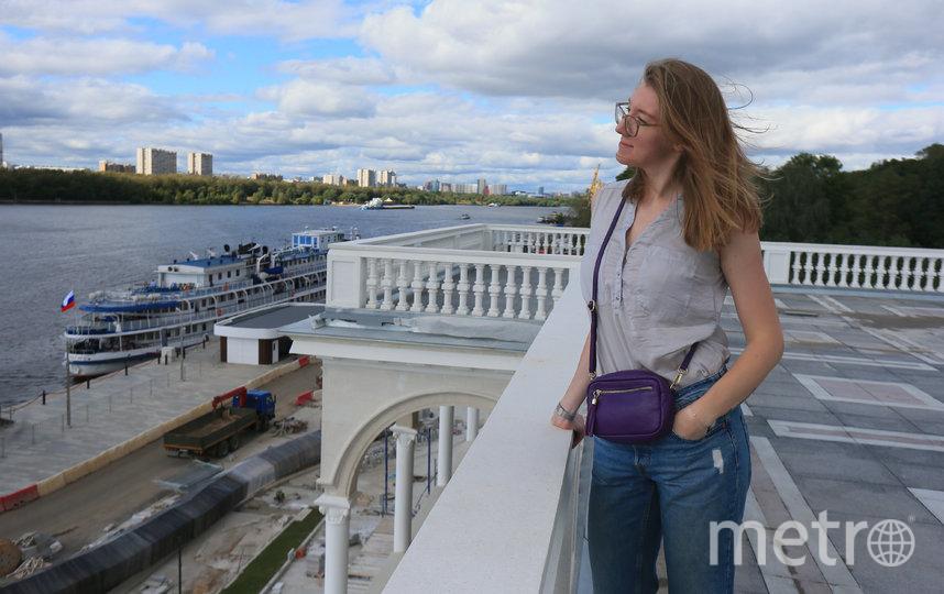 """Скоро москвичи и прибывшие на речной вокзал пассажиры смогут наслаждаться потрясающим видом с его крыши. Фото Руслана Карпова, """"Metro"""""""
