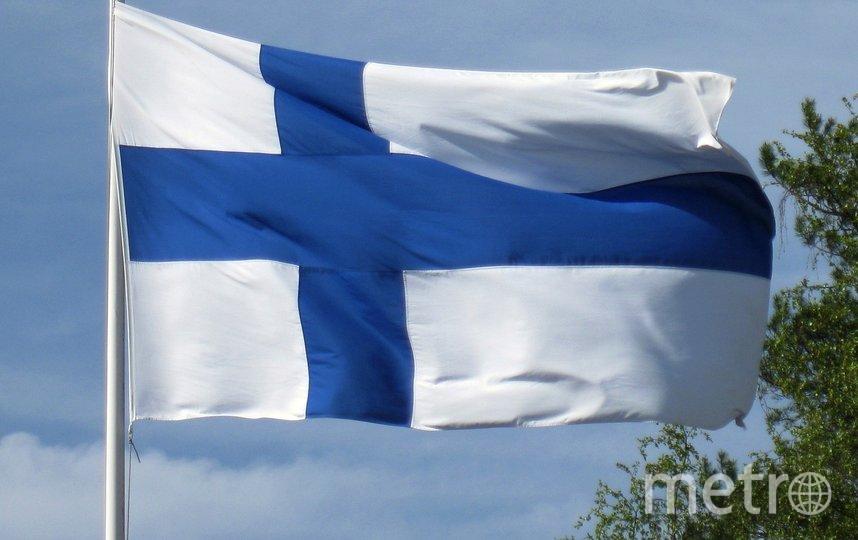 Флаг Финляндии. Фото Pixabay