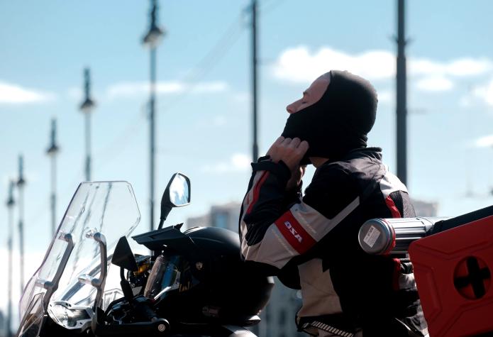 """За день Алексей планирует проезжать примерно 450 км. Истории о приключениях, радостях и трудностях путешествия мотоциклист будет публиковать  в своём Instagram-аккаунте и на сайте. Фото Алена Бобрович, """"Metro"""""""