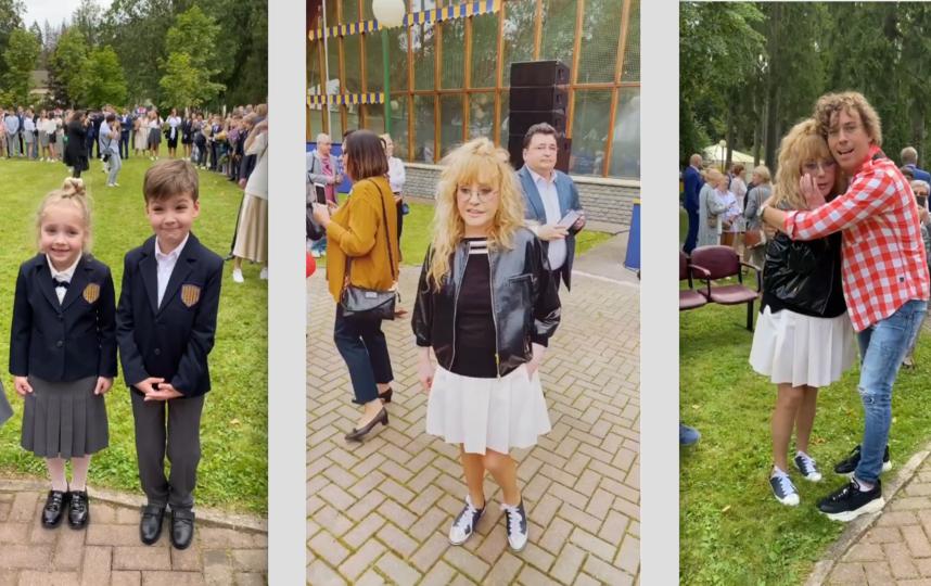 Алла Пугачева с детьми и Instagram @maxgalkinru мужем. Фото Instagram @maxgalkinru