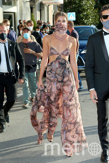 Платье Тейлор Хилл вызвало фурор. Фото Getty