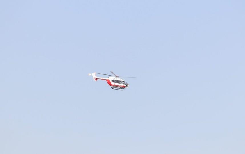 Для оказания экстренной медицинской помощи применяются вертолеты легкого класса. Фото Pixabay