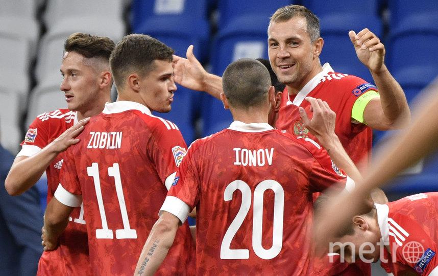 Россияне победили сербов. Фото AFP