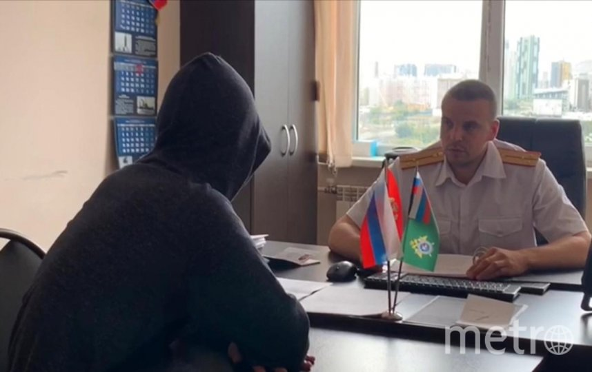 Подросток признал свою вину. Фото sledcom.ru.
