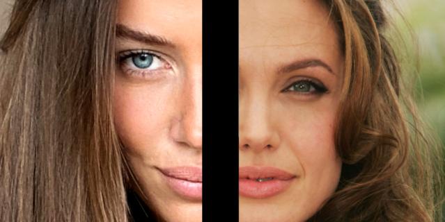 Слева - Николь, справа - Анджелина в 2007 году.