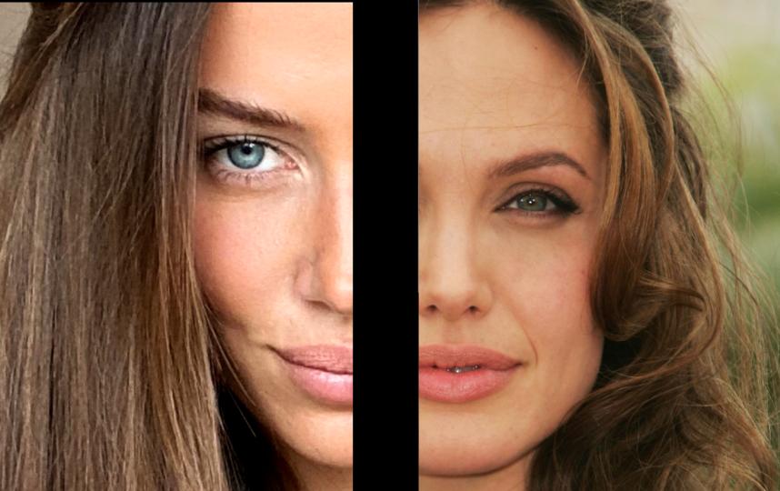 Слева - Николь, справа - Анджелина в 2007 году. Фото Getty