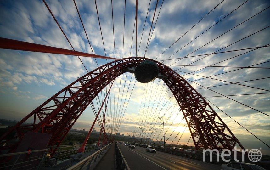 "Живописный мост. Фото АГН ""Москва"""