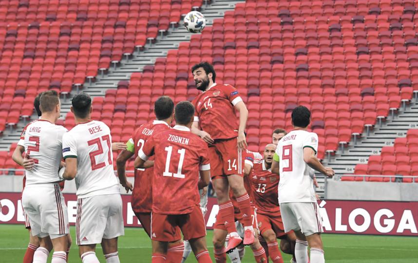 Россияне набрали 6 очков в двух матчах Лиги наций. Фото AFP