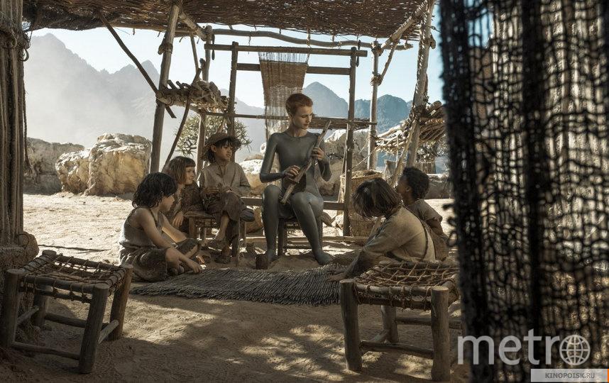 """Кадр из сериала """"Воспитанные волками"""". Фото HBO, kinopoisk.ru"""