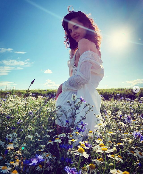 Мария Михалкова-Кончаловская. Фото скриншот: instagram.com/welcometomaria/
