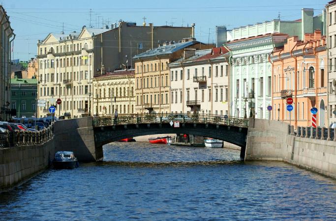 Большой Конюшенный мост. Фото https://gge.ru/.